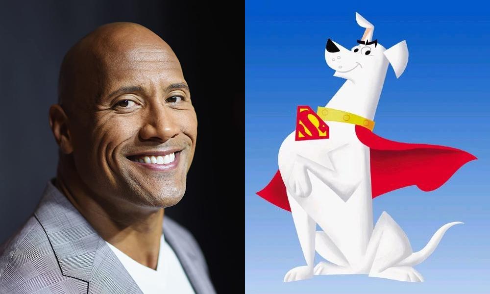 Dwayne Johnson   Krypto the Superdog (WB Animation/Cartoon Network series)