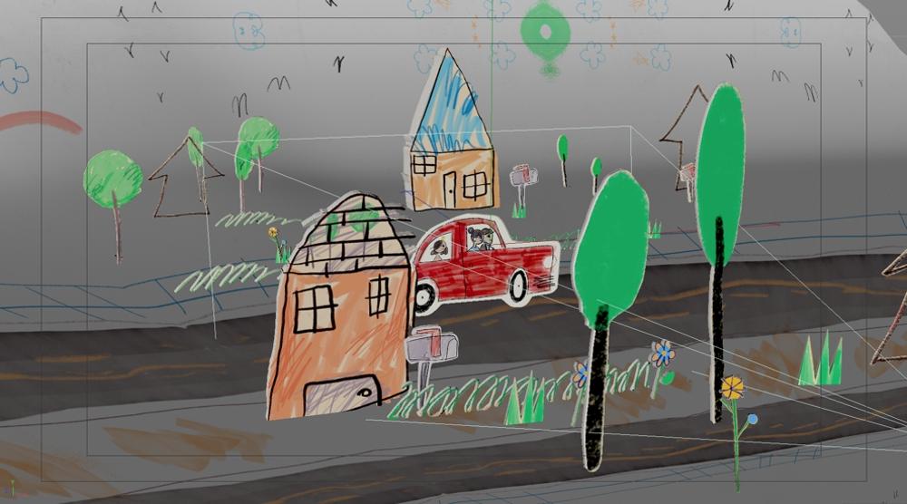 """""""ENDWI"""" animation process (courtesy Brigade)"""