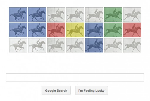The Horse in Motion Google doodle