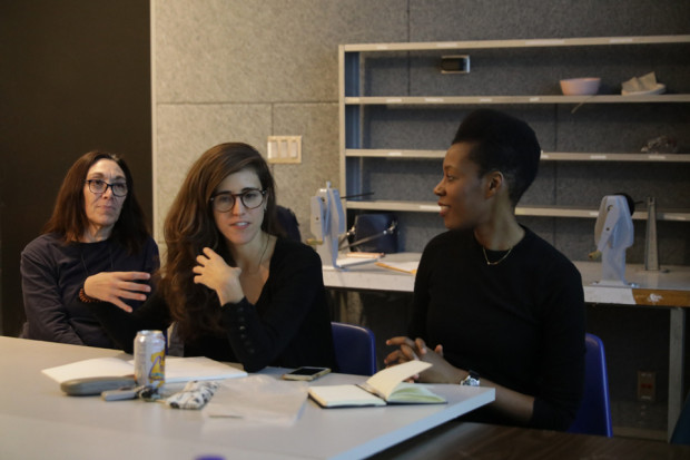 HeForShe's Elizabeth Nayanayaro visits CalArts class