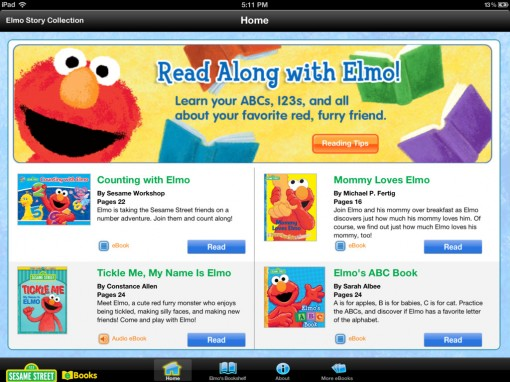 The Elmo Story Collection App