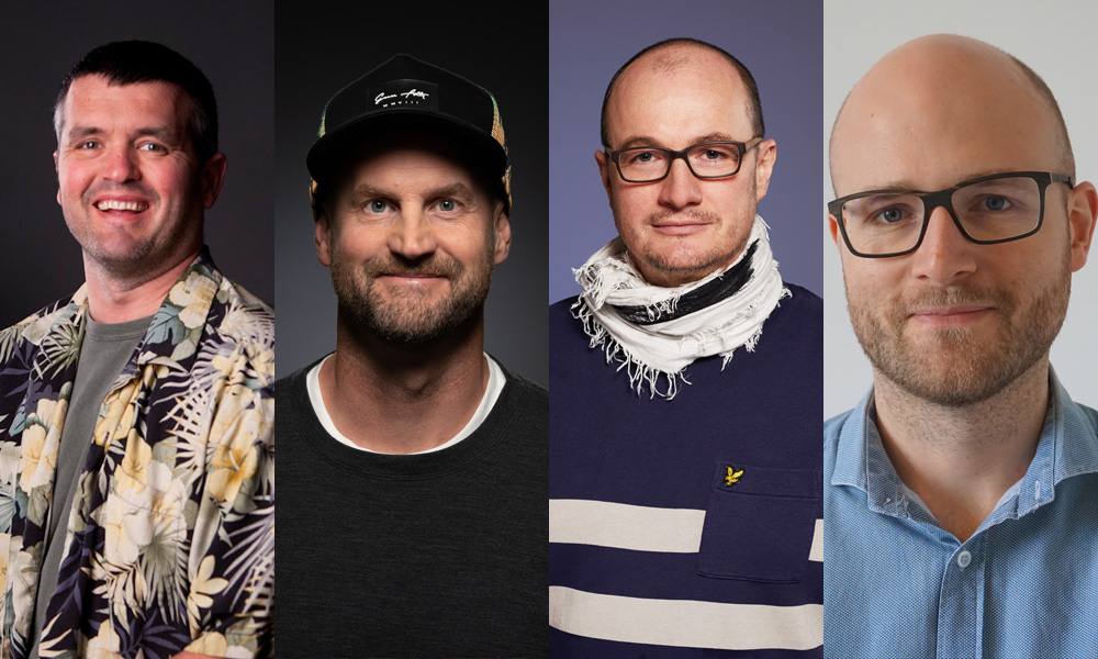 Eric Saindon | Mike Cozens | Simon Jung | David Sadler-Coppard