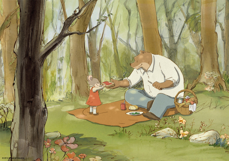 Gkids Picks Up French Pic Ernest Celestine