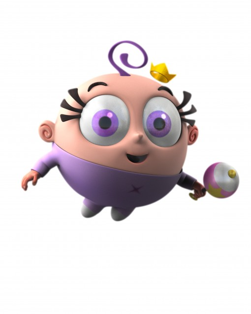 PICTURED: Poof as rendered in CG for A Fairly Odd Movie: Grow Up, Timmy Turner! Photo/Nickelodeon. ©2011 Viacom, International, Inc. All Rights Reserved