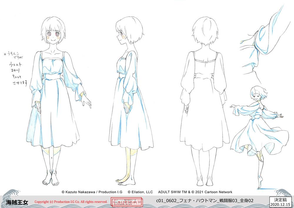 Fena character designs