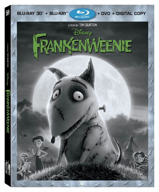 Frankenweenie 4-Disc Blu-ray Combo Pack
