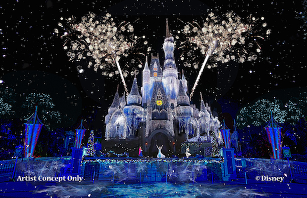 Frozen Attraction Set for Disney World
