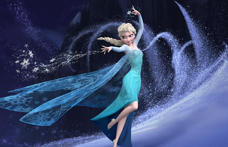 Elsa From Frozen Movie