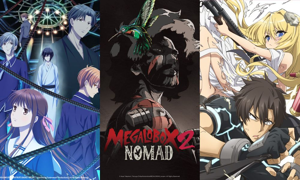 Fruits Basket, MEGALOBOX 2: NOMAD, Combatants Will Be Dispatched!