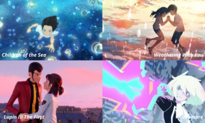 Children of the Sea / Weathering With You / Lupin III: The First / Promare