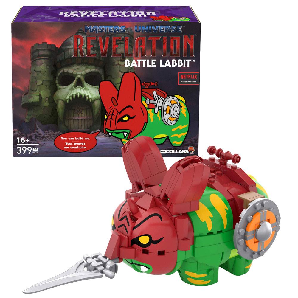 MEGA Collabs - MOTU Battle Labbit (Mattel)