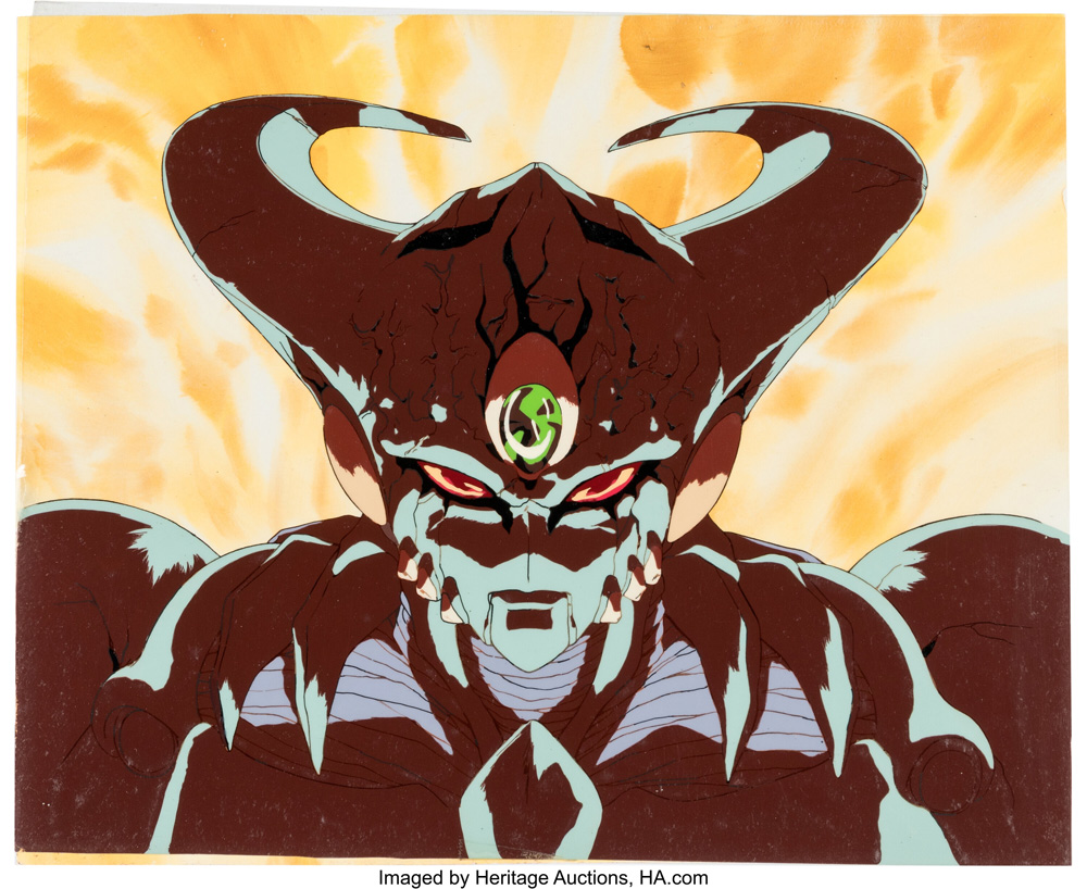 Genocyber production cel with key master background (Artmic)