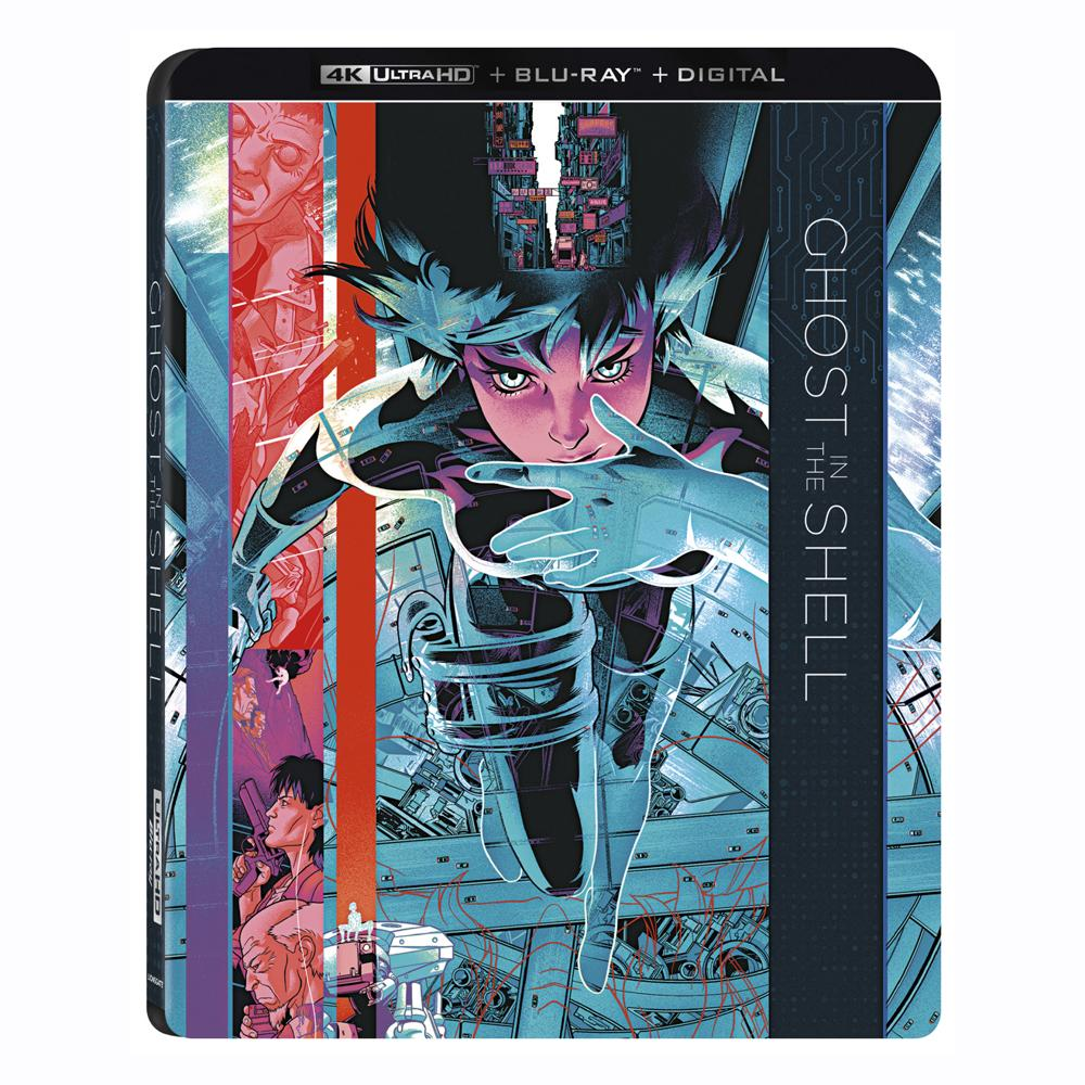 Ghost in the Shell 4K Ultra HD Combo Pack