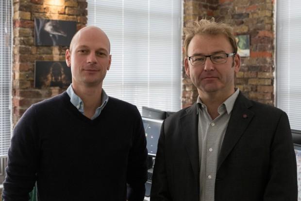 Exec Producer James Prosser and Exec Director Martin Hobbs of Goodbye Kansas UK