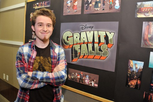 Alex Hirsch, creator of Gravity Falls