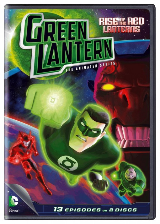 Green Lantern: The Animated Series - Rise of the Red Lanterns DVD