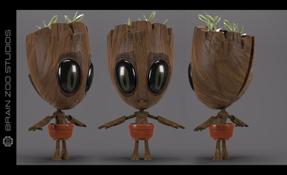 Guardians of the Galaxy - Baby Groot Turnaround