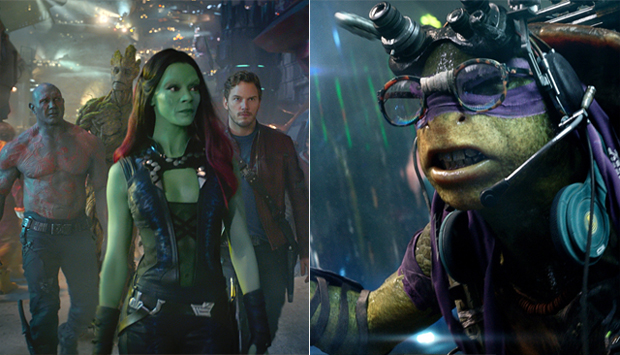 Guardians of the Galaxy / Teenage Mutant Ninja Turtles
