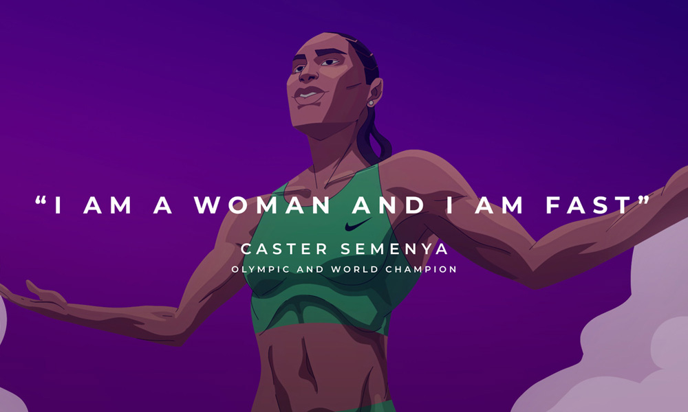 Born This Way - Caster Semanya