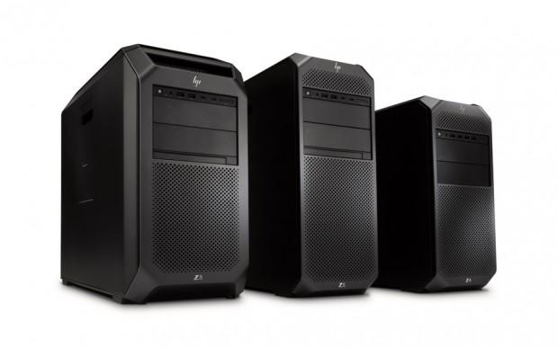 HP Z8, Z6 and Z4 Workstations