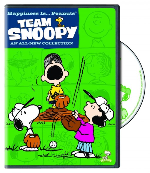 Happiness Is…Peanuts: Team Snoopy DVD