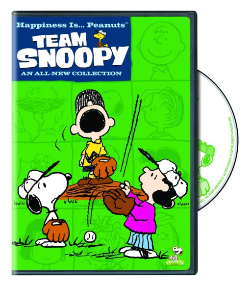 Happiness is ... Peanuts: Team Snoopy DVD
