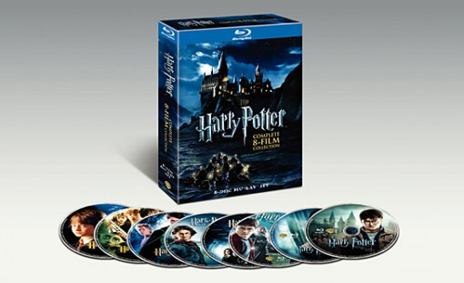 Harry Potter Complete 8-Film Collection box set