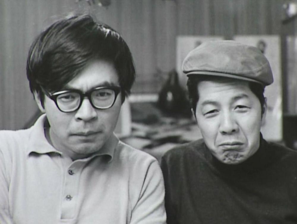 Hayao Miyazaki (left) and Yasuo Otsuka (right)