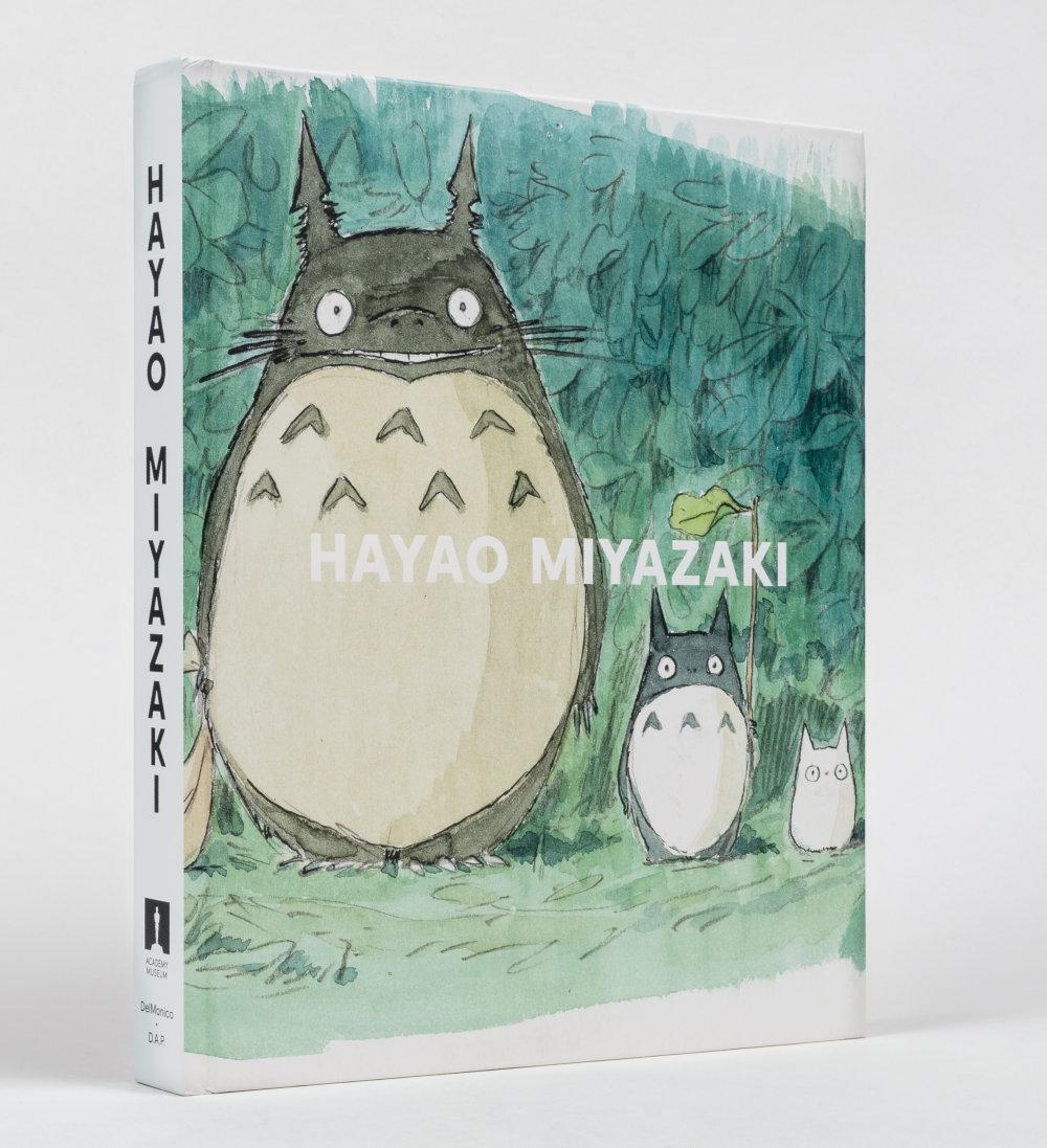 Hayao Miyazaki catalog, co-published by DelMonico Books and distributed worldwide by D.A.P. Artbook; imageboard, My Neighbor Totoro (1988), Hayao Miyazaki, © Studio Ghibli
