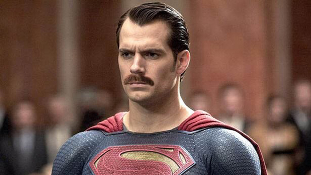 The Man with the Million-Dollar Mustache: Henry Cavill's facial hair (grown for his role in MI6) caused inter-studio squabbling and VFX cover-ups for reshot scenes in Justice League.
