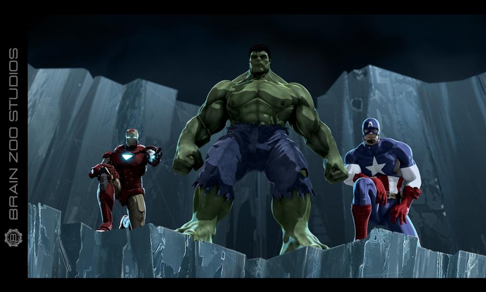 Iron Man & The Hulk: Heroes United