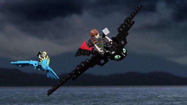 Hiccup & Toothless vs. The Skrill that Stole Snoggletog