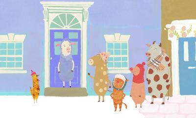 Hopscotch and the Christmas Lights