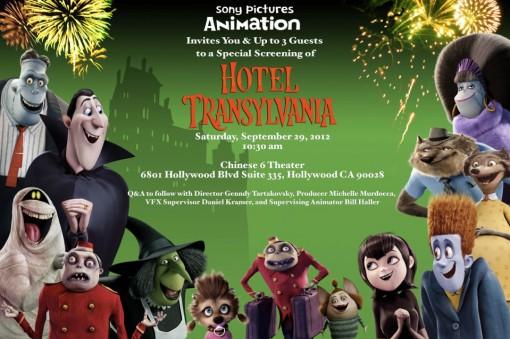 Hotel Transylvania Screening