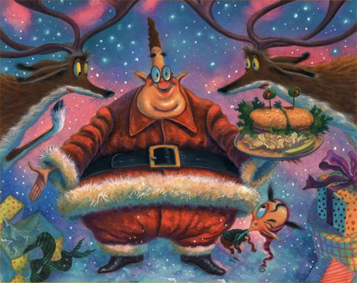 How Murray Saved Christmas.Nbc Wants Animated Reiss Special For Xmas