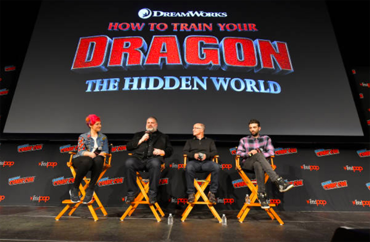 How to Train Your Dragon: The Hidden World Comic Con panel