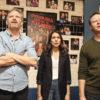 L-R Hugh Davidson, Rachel Ramras and Larry Dorf in Nobodies (2017)