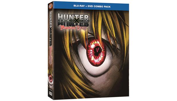Hunter X Hunter: Phantom Rouge Blu-Ray DVD