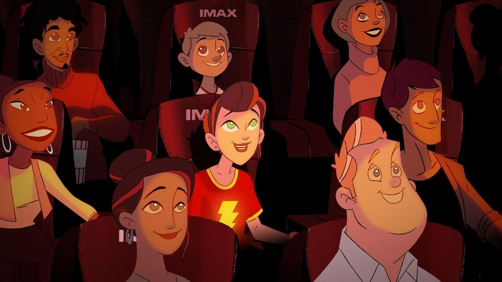 Shazam! Spot for IMAX