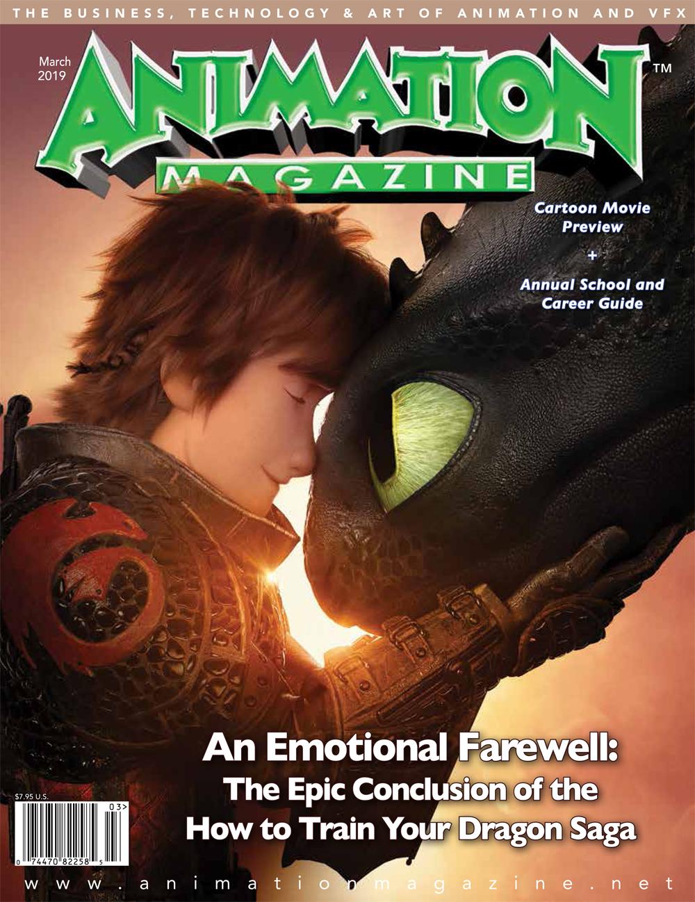 Animation Magazine - #288 March 2019