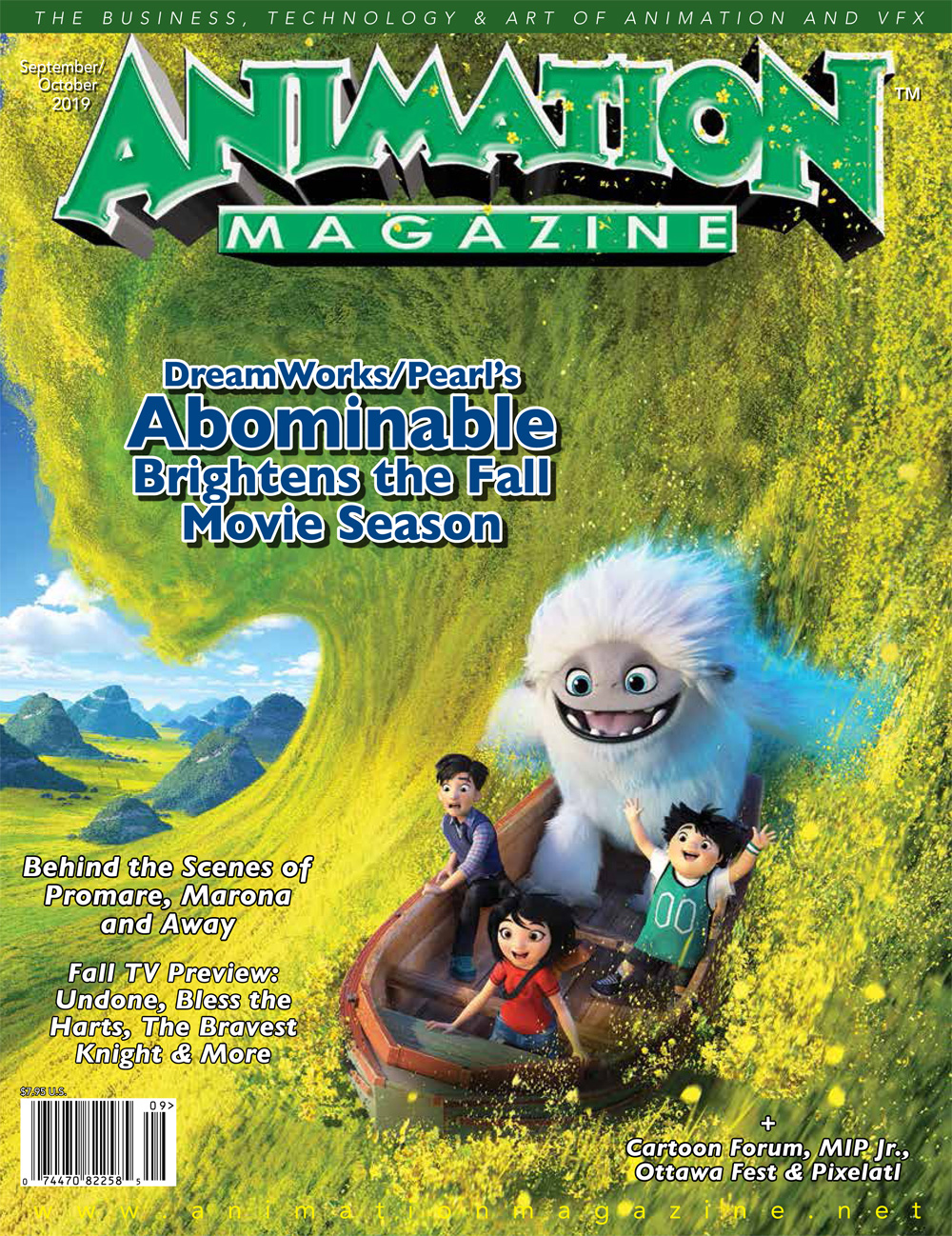 Animation Magazine - #293 September/October 2019