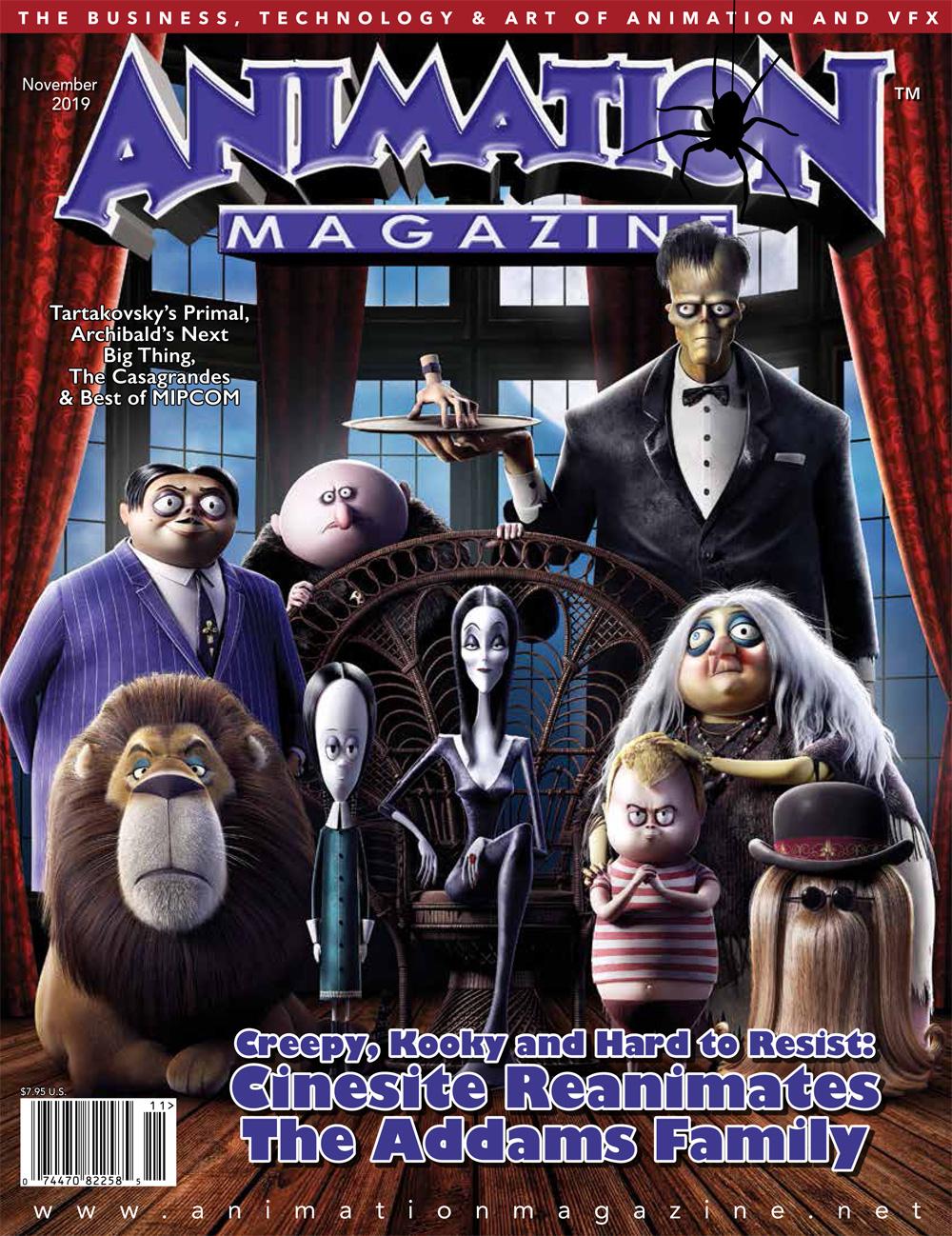 Animation Magazine – #294 November 2019