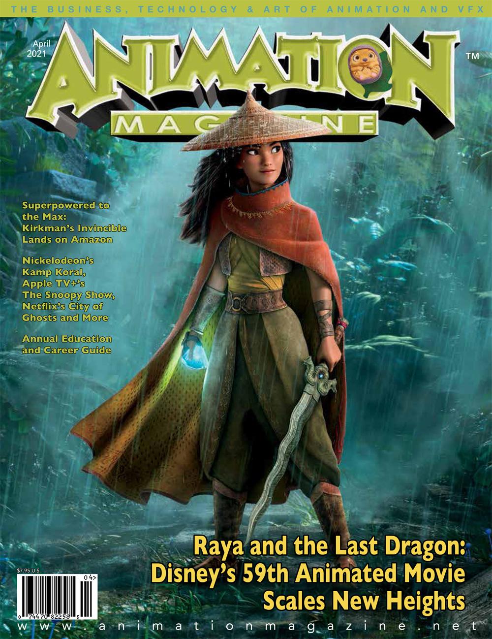 Animation Magazine – #309 April 2021