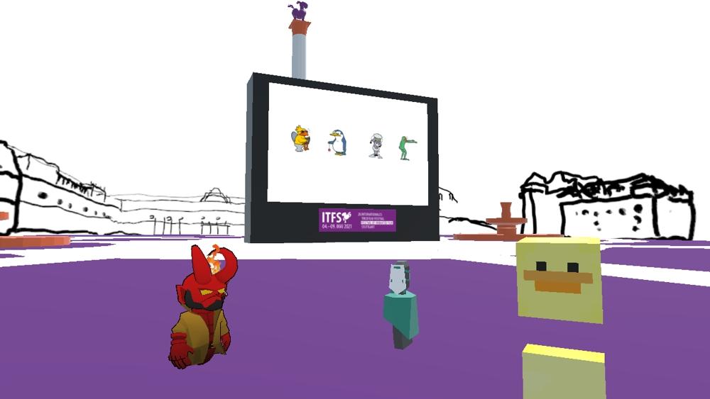 ITFS 2021 will feature a virtual reality Schlossplatz.