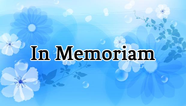 In Memoriam: 2013