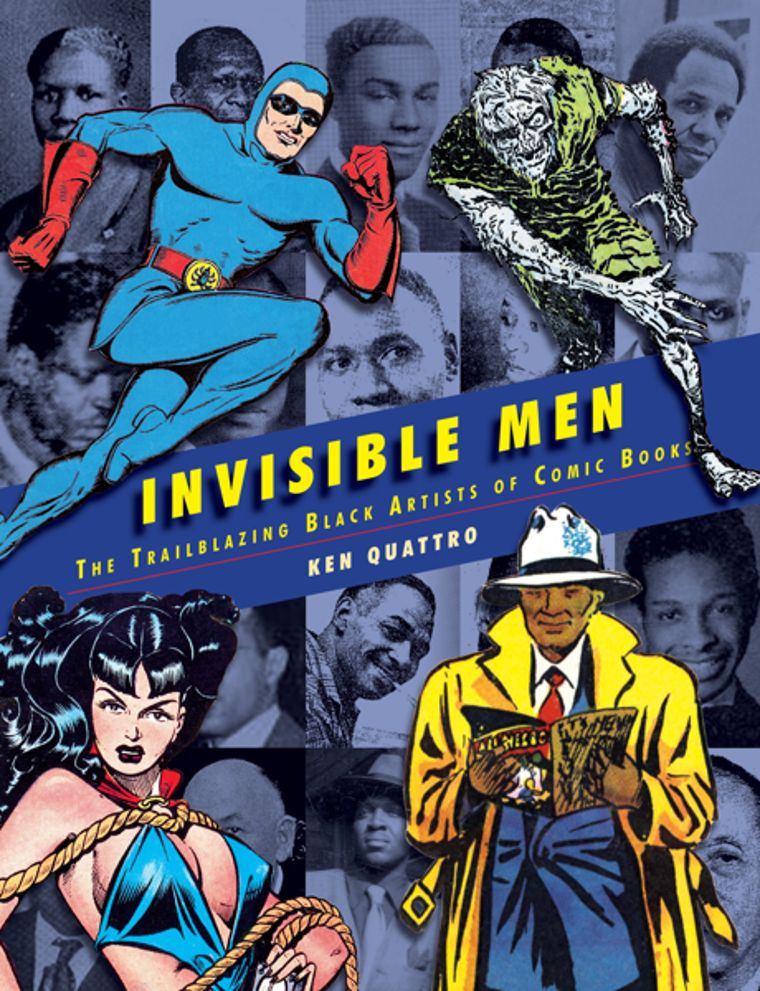 Invisible Men: The Trailblazing Black Artist of Comic Books