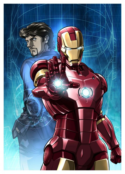 Marvel's Iron Man anime series