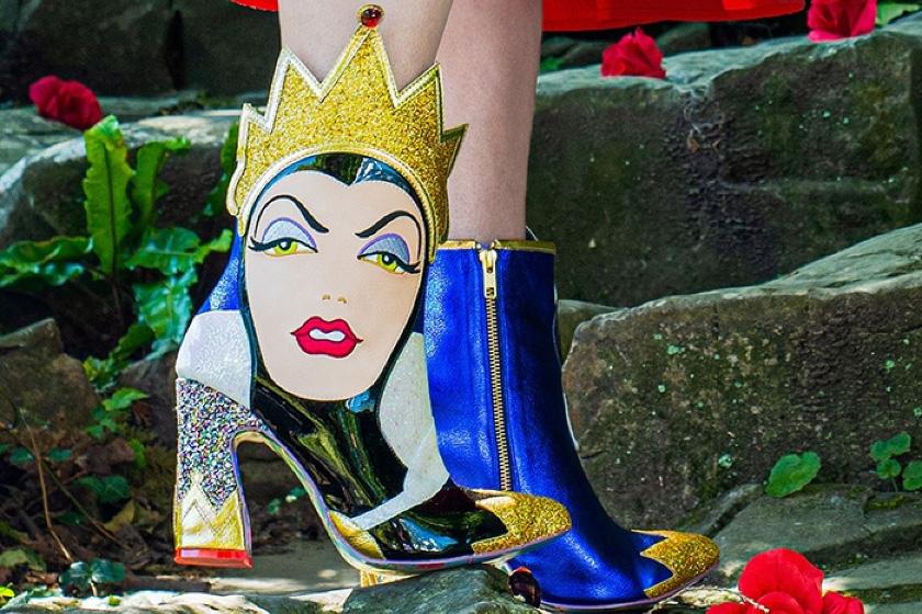 Irregular Choice x Disney Snow White boots