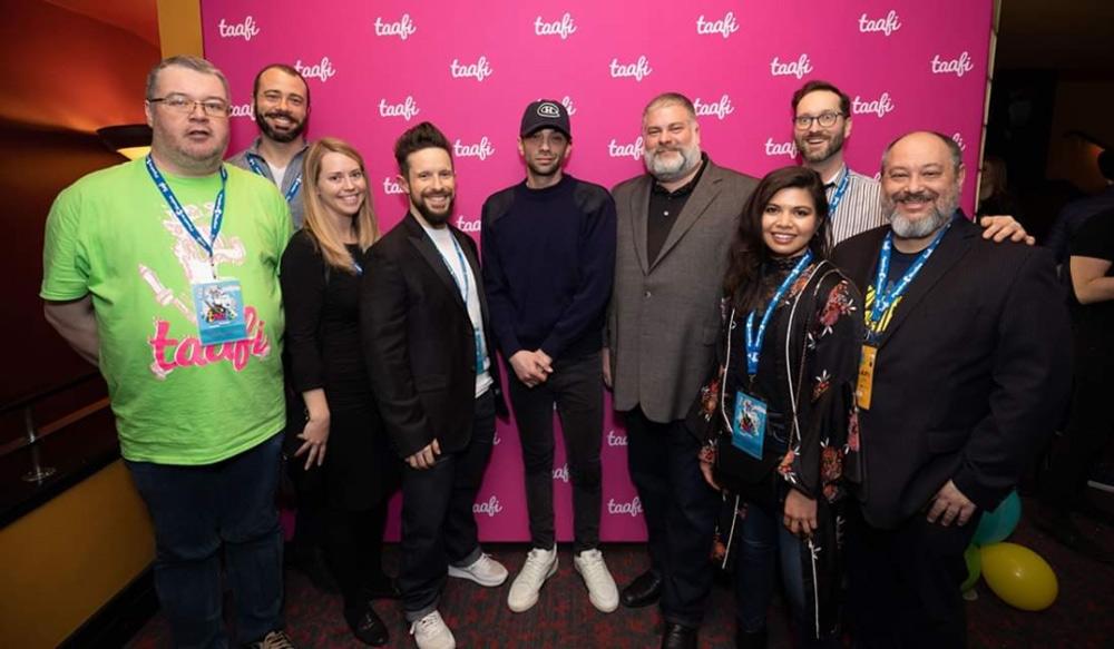 Jay Baruchel and Dean DeBlois at TAAFI 2019