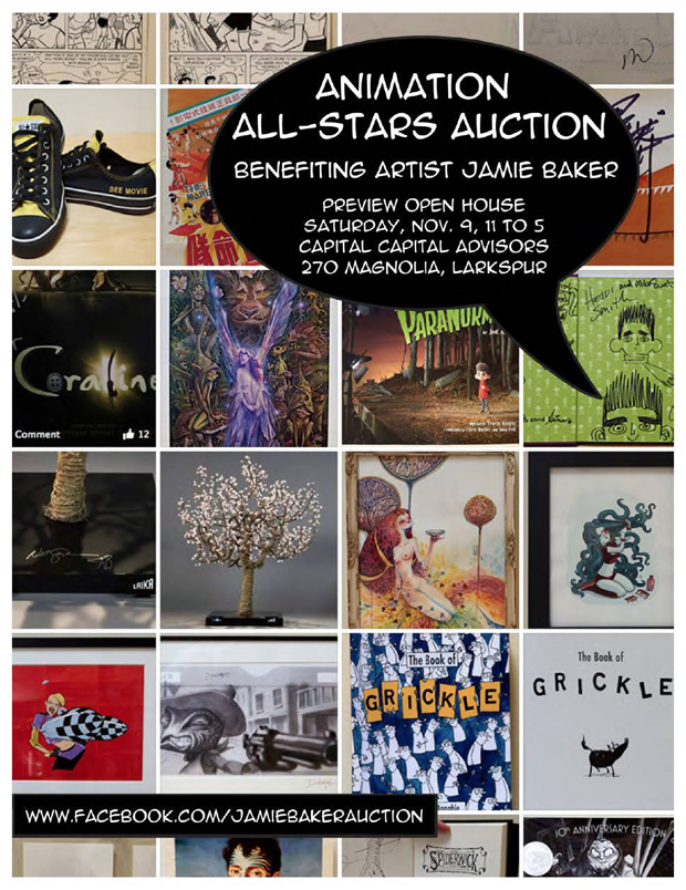 Animation All-Stars Auction